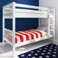 Oxford Single Bunk Bed in White
